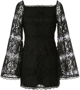 Alice McCall Diamond Veins mini dress