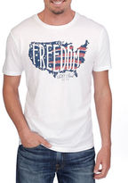 Lucky Brand Freedom Graphic Tee