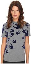 McQ by Alexander McQueen Classic T-Shirt Women's Short Sleeve Pullover