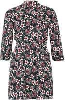 Izabel London **Izabel london Multi Navy Shift Dress