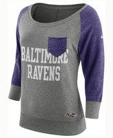 Nike Women's Baltimore Ravens Vintage Crew Long Sleeve T-Shirt