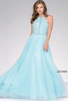 Jovani Embellished Bodice Tulle Prom Dress 47453