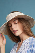 Anthropologie Metallic Visor