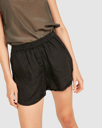Primness - Women's Black Shorts - Lin Shorts - Size One Size, 1 at The Iconic