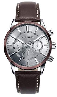 Watch Viceroy 471043 Steel Multi Function Leather Man