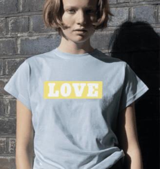 Margaux Love Print T Shirt