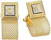 Versace Mesh Cufflinks Cuff Links
