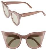 Le Specs Women's 'Flashy' 51Mm Sunglasses - Black