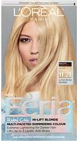 L'Oreal Hair Color Feria Multi-Faceted Shimmering Color, 11.21 Bad to the Blonde (Ultra Pearl Blonde)