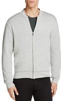 Velvet Ravel Heathered Knit Fleece Lined Bomber Jacket