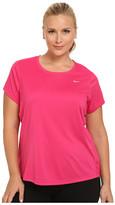 Nike Miler Short-Sleeve Running Top (Size 1X-3X)