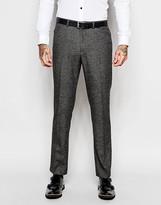 Asos Slim Suit Pants In Birdseye
