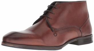 Kenneth Cole New York Men's Stamp Chukka Boot Dark Brown 7 M US