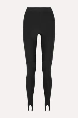Ambush Printed Stretch-scuba Stirrup Leggings - Black