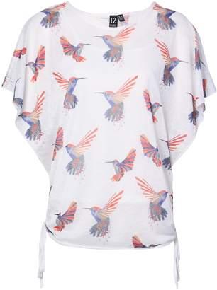 Dorothy Perkins Womens *Izabel London White Hummingbird Print T