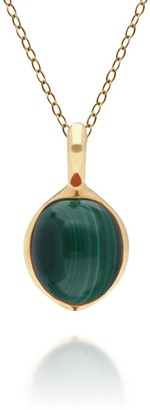 Gemondo Irregular Malachite Pendant