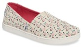 Toms Girl's Classic Alpargata Arrow Print Slip-On
