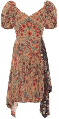 Preen by Thornton Bregazzi Gena floral crepe de chine dress