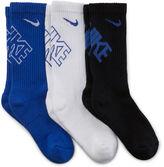 Nike 3-pk. Performance Crew Socks - Boys