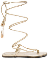 Pilyq Gladiator Sandals in Metallic Gold. - size 7 (also in )