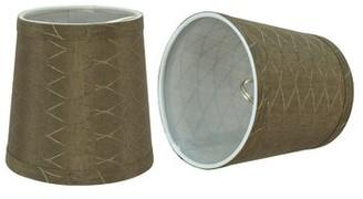 "Red Barrel Studio Transitional 5"" Fabric Empire Lamp Shade"
