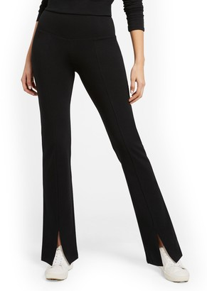 New York & Co. High-Waisted Pocket Bootcut Yoga Pant