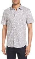 Michael Bastian Men's Bubble Camo Print Sport Shirt