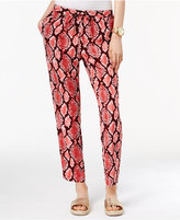 MICHAEL Michael Kors Printed Soft Pants, a Macy's Exclusive Style