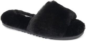 Patricia Green Tahoe Genuine Shearling Slipper