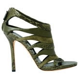 Gucci Python Sandals