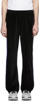 Needles Black Velour Lounge Pants