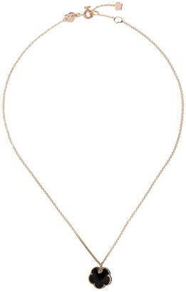 Pasquale Bruni 18kt rose gold Petit Joli onyx and diamond necklace