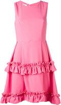 Dondup ruffled dress - women - Spandex/Elastane/Acetate/Cupro/Viscose - 40