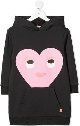 Billieblush Heart Cotton Hoodie