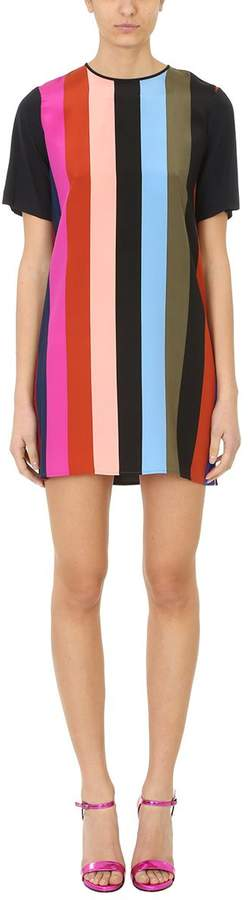 Diane von Furstenberg Multicolor Fluid Dress