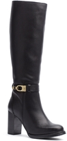 Tommy Hilfiger Heeled Leather Riding Boot