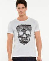 Le Château Skull Print Cotton T-shirt