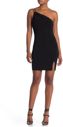Jump One Shoulder Side Cutout Dress