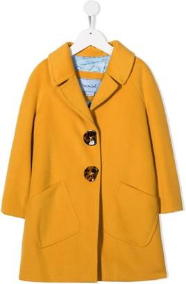 Mi Mi Sol Single Breasted Coat
