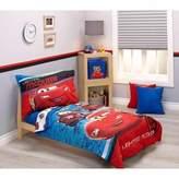 Disney Baby, Childrens, Toddler 4 Piece Bedding Set (Cars)