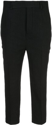 Rick Owens Tailored Cropped Trousers