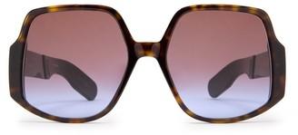 Christian Dior Oversized Frame Sunglasses