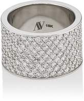 Ambre Victoria Women's White Diamond Cigar Band