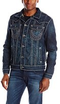 True Religion Men's Jimmy Western Jean Jacket
