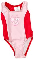 Playshoes Girl's UV Sun Protection Bathing Suit Butterfly Swimsuit