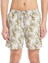 Saks Fifth Avenue Collection Palm Leaf Swim Trunks