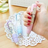 BuW Extension Type Cute Design Plastic Eraser ( Color x1pcs) , cute creative Stationery and office supplies