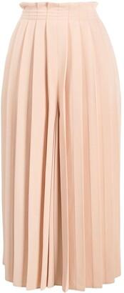 MM6 MAISON MARGIELA Pleated Wide-Leg Culottes