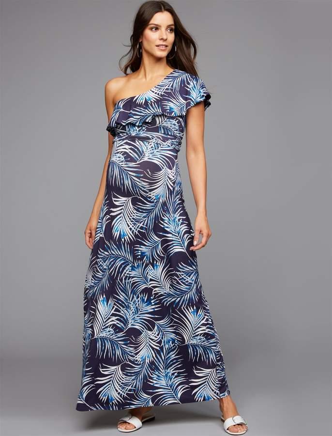 0574eff0c185f Palm Print Maternity Dress - ShopStyle