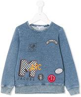 Little Marc Jacobs patch detail sweatshirt